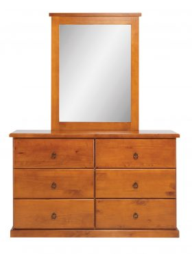 Casey Dressing Table and Mirror