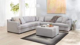Monroe Corner Suite with Ottoman