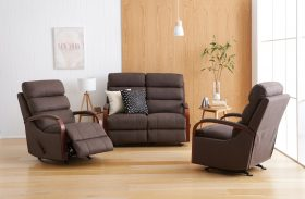 Seattle 3 Piece Recliner Suite